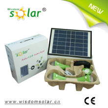 Smart solar-LED home lighting kit with 3 solar lamps(JR-SL988A)