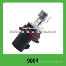 12V 1W de alta potência 10 SMD 5050 9004 farol