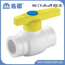 Válvula de esfera de plástico de PPR tipo a-Threaded, válvula de esfera de plástico, válvula, válvula plástica, válvula de PP-R