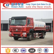 SINOTRUK HOWO 10cbm 10000liter camião cisterna para venda