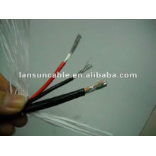 Enternet cable/wire 24AWG 4P+18AWG 2C (NEW PRODUCT)