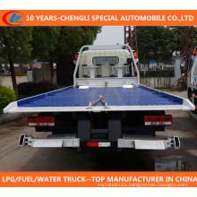 Tri-Axles Flatbed Heay Duty Truck/Flatbed Wrecker/Flatbed Transportation Trucks/Towing Truck Wrecker