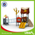 Superboy Kids Large outdoor adventure playground equipment LE.YG.005