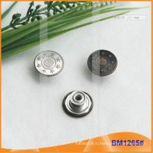 Джинсы серебряные кнопки BM1265