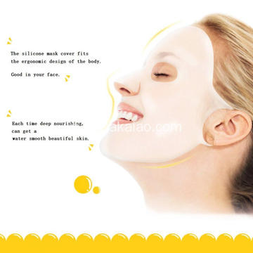 Copertina in silicone per donne Beauty Mask