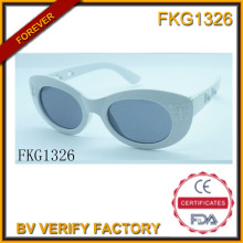 Glänzen Sie graue einfache Sonnenbrille (FK15027)