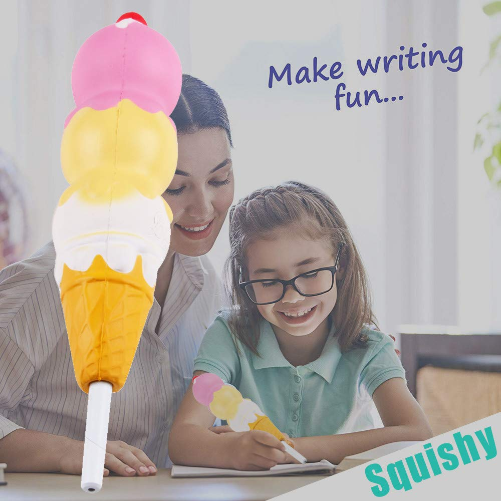Cute Ice Cream Squishy Pen 2
