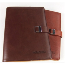 Notebook with Spiral Binding. PU Notebook with Pen Set