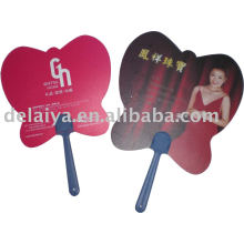 Promotional advertising PP plastic fans