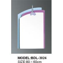 Miroir de salle de bains en verre argenté de 5 mm d'épaisseur (3024)