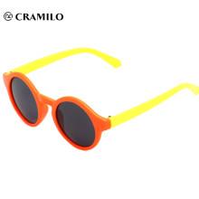 dos tonos de colores venta caliente moda gafas de sol para niños