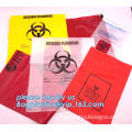 Medical Waste Bag For Medical Use, Yellow/red/black biohazard infectious/medical waste bag/liner with drawcord/drawstring