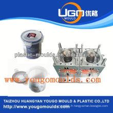 Zhejiang taizhou huangyan moule pour conteneur de stockage et 2013 nouvelle boîte à outils en plastique d'injection en plastique mouldyougo moule