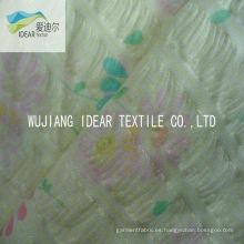 Estampado 100% algodón Seersucker tela para la ropa