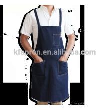 coton denim de tablier d'outil d'atelier résistant de coton