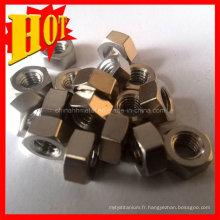Gros Gr5 Titanium Fasterners fabriqués en Chine