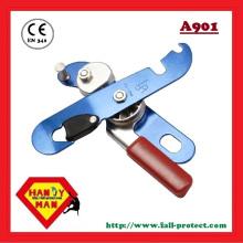 CE EN341 Descansador de segurança de auto-frenagem de alumínio