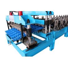 Máquina de formação de rolo de telha de meia rodada