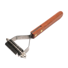 S Size 12 Blades - Dogs Cats Fixed Blade Brush Pet Grooming Tool Dematting Rake Best Supplier for Pet Products Low Pieces