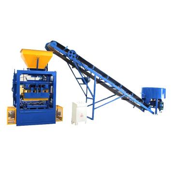 QTF4-24 Middle fly ash cement block making machine price in sri lanka