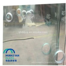 CCC SGCC decorative toughened silk printing glass for office room