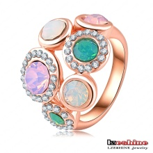 Bijoux fantaisie avec anneau femelle en or opale (Ri-HQ0004)