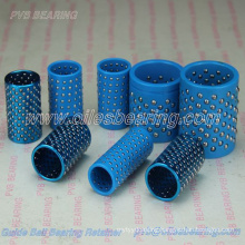 cold punching mold ball guide bush, FZP ball retainer bearing, plastic steel blue plasitc bronze ball retainer