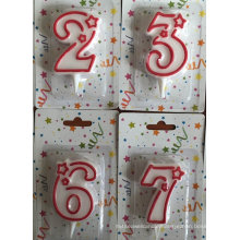 Number candle for Kids Birthday Party
