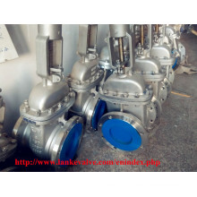 API Stainless Steel Handwheel Gate Valve with Flange End