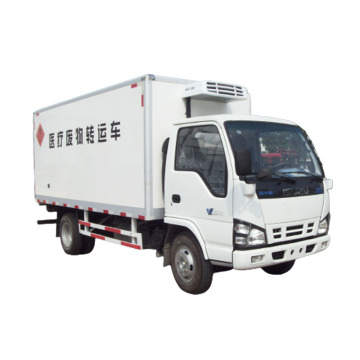 Isuzu 120HP 4tons Refrigerated cold room Van Truck