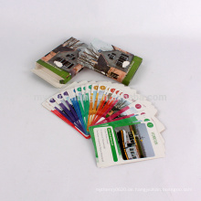 Benutzerdefinierte Printing Poker Größe Spielkarten