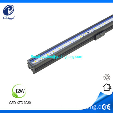 12W IP65 estructura impermeable led luz lineal