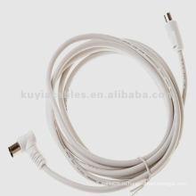 10FT (3M) ТВ антенны коаксиальный РФ Fly кабель кабель Белый кабель TV