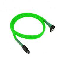 Flat 7 Pin SATA Cable con clips con mangas para portátil