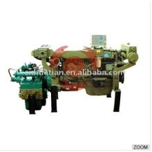 Motor diesel marino 120hp con la caja de engranajes