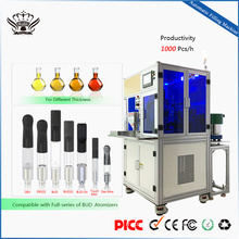 low price BUD atomizers cartridges semi auto co2 filling machine