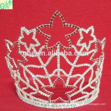 Festa de férias de moda anel de coroa de ouro
