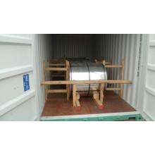Mar Azul / Blanco / Rojo Prepainted Bobina de acero galvanizado PPGI