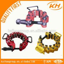 Grampos de segurança API, braçadeira de segurança, braçadeira de segurança para perfuração de óleo