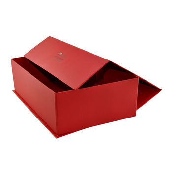 Red Corner Folding Kosmetisk Box