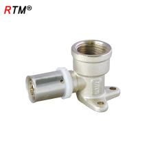 B17 4 13 pressione o encaixe para o encaixe de bronze do tubo do pex al pex com asa