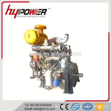 2000rpm motor diesel de alta velocidad HF4105ZG con eje de salida