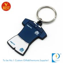 China Billige kundenspezifische eingebrannte fördernde weiche PVC-Schlüsselkette oder Ring in der hohen Qualität