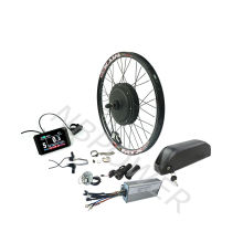 E Bike electric convertion kit with 52v down tube battery with colorful display