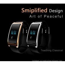 Impermeable Incorporado USB Wechat Interconexión Heatrate Monitor El Bluetooth Sleep Monitoring Super-Largo Espera Smart Watch Android