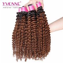 Mode brasilianische Remy Ombre Haarverlängerung