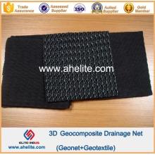 HDPE Geonet Composto Geotextil Flownet Drenagem Media