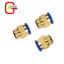 PC straight connector thread pneumatic pipe fitting