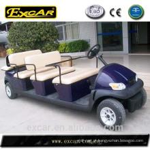 CE 8 + 3 assento elétrico carro de golfe ônibus de turismo turístico