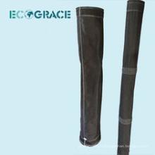 Capuche de filtration en fibre de verre à collecteur de poussière de tissu de 750gsm